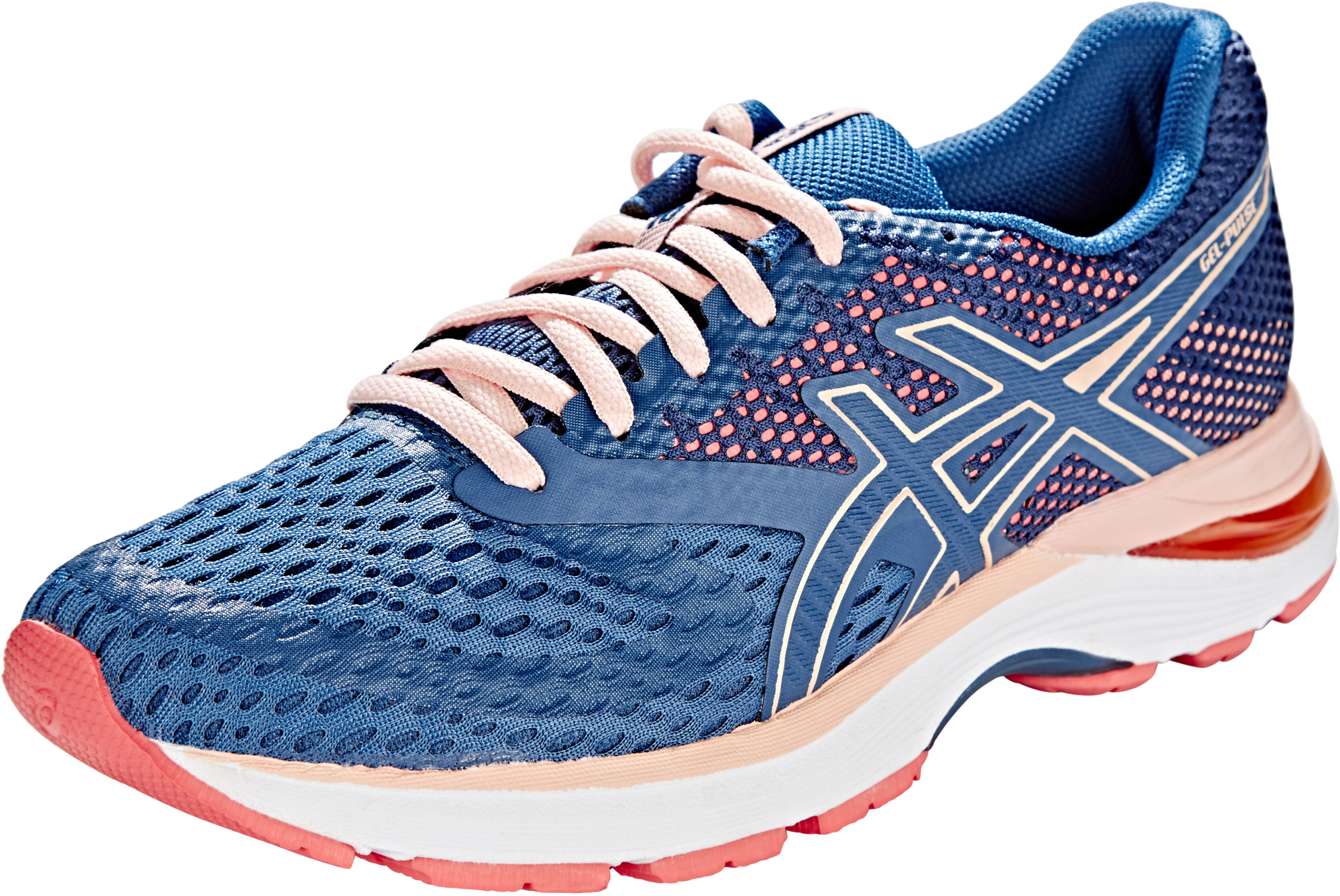 6486ba1d2c3 asics Gel-Pulse 10 Løbesko Damer, grand shark/bakedpink | Find ...